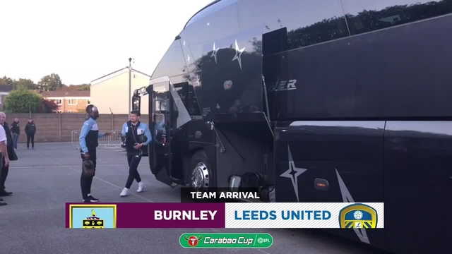 BURNLEY | TEAM ARRIVAL