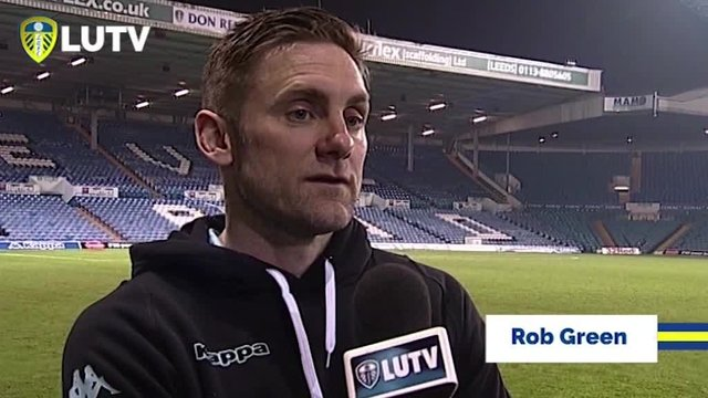 FREEVIEW | LEEDS V BRISTOL | ROB GREEN | POST MATCH