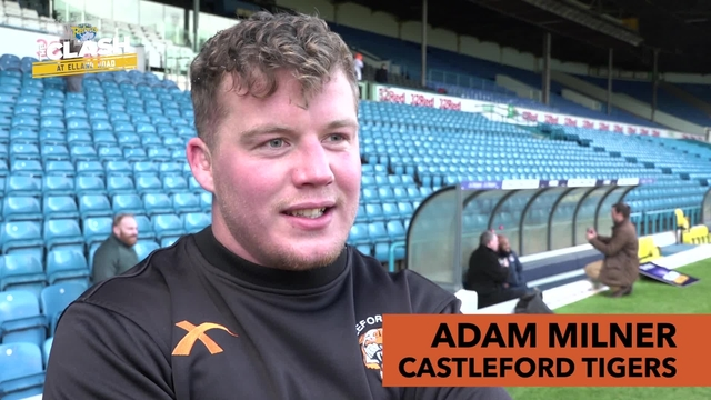 LEEDS V CASTLEFORD | ADAM MILNER | INTERVIEW