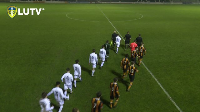 UNDER 18s FA YOUTH CUP - LEEDS UNITED Vs HULL CITY