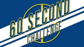 60 SECOND CHALLENGE | JAMIE SHACKLETON