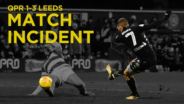 MATCH INCIDENT | ROOFE 1ST GOAL