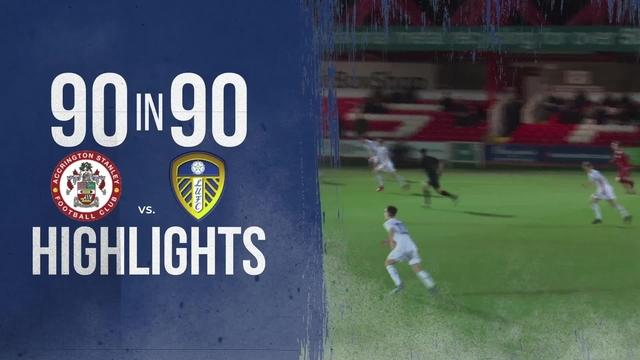 ASFC 4-2 LUFC | U18s | 90 IN 90