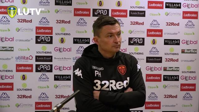 HECKY   PRESS CONFERENCE   POST-WOLVES