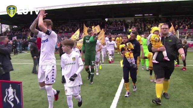 Sutton Utd v Leeds Utd FA Cup 4th Rnd Highlights