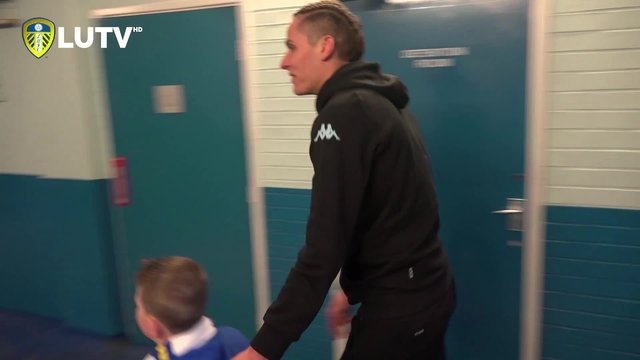 LEEDS UNITED FOUNDATION | LOGAN MEETS MARCO