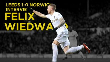 LEEDS V NORWICH | FELIX WIEDWALD POST MATCH