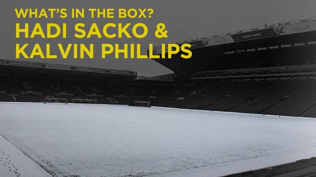 HADI SACKO & KALVIN PHILLIPS | WHAT'S IN THE BOX?