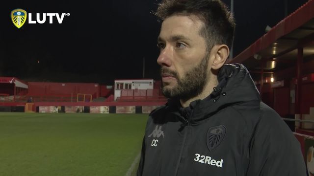 U23s | CARLOS CORBERAN POST MATCH REACTION