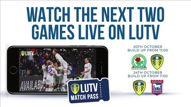 UP NEXT ON LUTV | BLACKBURN & IPSWICH