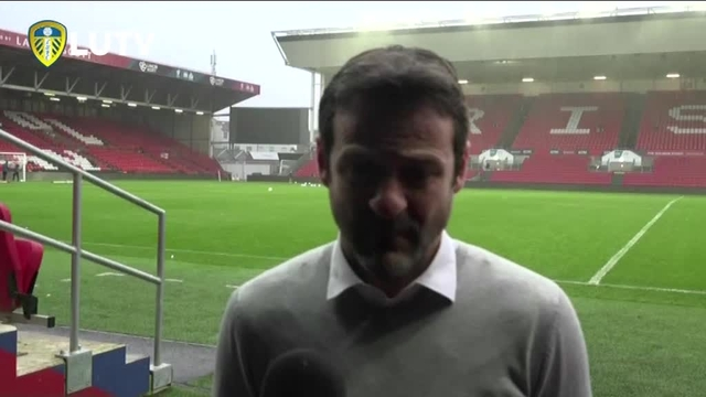 BRISTOL CITY V LEEDS UNITED | THOMAS CHRISTIANSEN POST MATCH