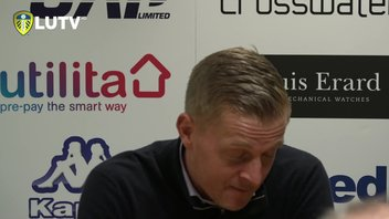 NORWICH: GARRY MONK POST MATCH PRESS CONFERENCE
