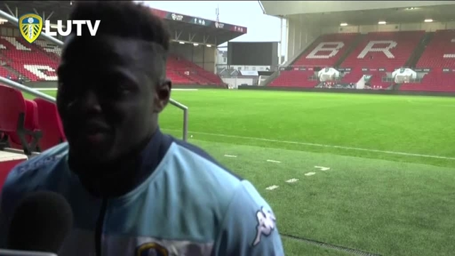 BRISTOL CITY V LEEDS UNITED | RONALDO VIEIRA | POST MATCH