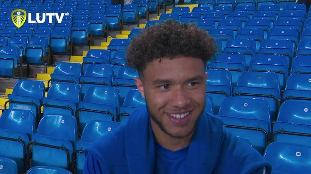 TYLER ROBERTS | LUFC 3-0 PNE | POST MATCH