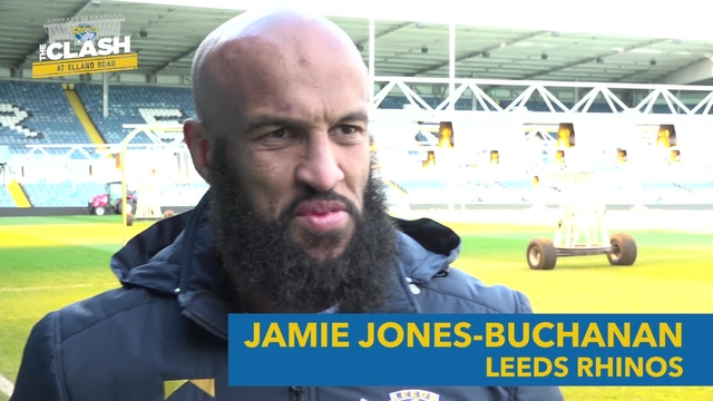 LEEDS V CASTLEFORD | JAMIE JONES-BUCHANAN | INTERVIEW