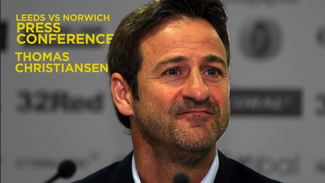 THOMAS CHRISTIANSEN | PRESS CONFERENCE | PRE-NORWICH