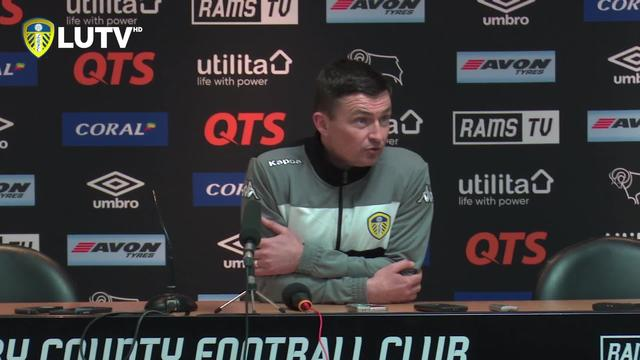 HECKINGBOTTOM | PRESS CONFERENCE | POST DERBY