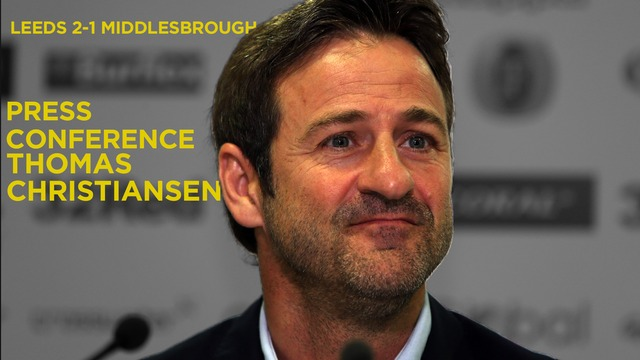 THOMAS CHRISTIANSEN | POST BORO PRESS CONFERENCE
