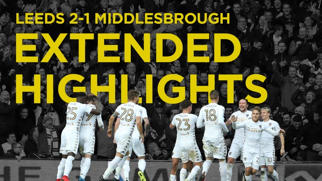 LEEDS VS MIDDLESBROUGH