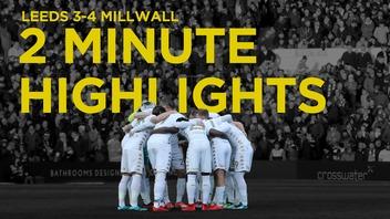 2 MINUTE HIGHLIGHTS | MILLWALL
