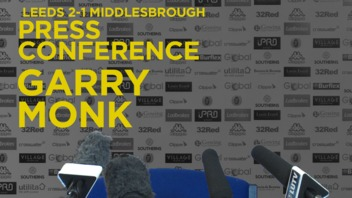 GARRY MONK | POST BORO PRESS CONFERENCE