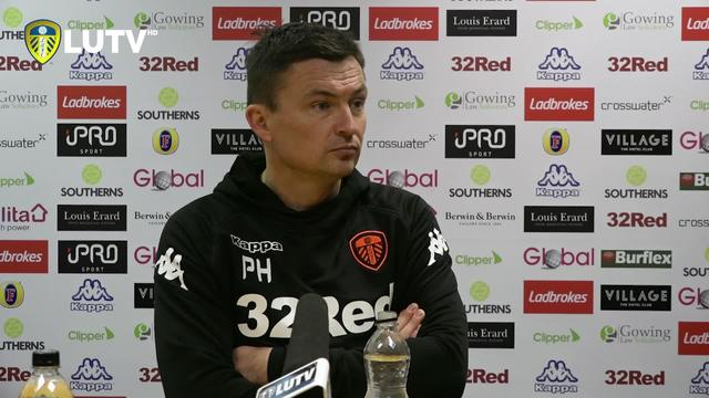 POST MATCH PRESS CONFERENCE | BRISTOL CITY