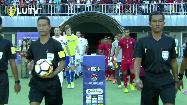 MYANMAR NATIONAL TEAM 0-2 LUFC | MYANMAR TOUR
