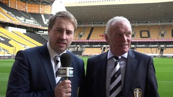 WOLVES: THOM KIRWIN AND EDDIE GRAY PRE-MATCH