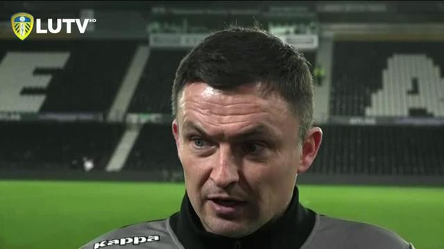 PAUL HECKINGBOTTOM | POST DERBY INTERVIEW