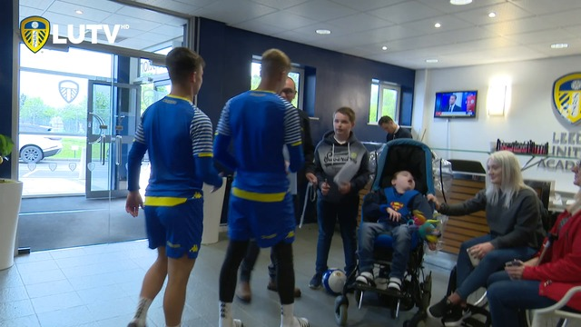 JACK'S SURPRISE VISIT TO THORP ARCH