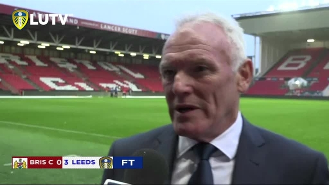 BRISTOL CITY V LEEDS UNITED | EDDIE GRAY | POST MATCH