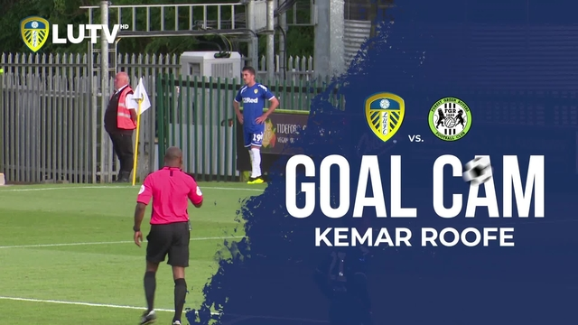 GOAL CAM | KEMAR ROOFE v FOREST GREEN