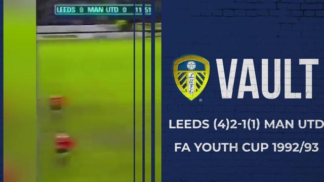 VAULT | 1993 FA YOUTH CUP FINAL | LEEDS UTD (4) 2-1 (1) MAN UTD