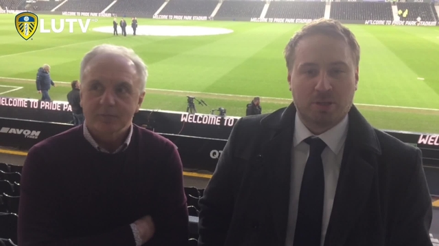 DERBY V LEEDS | THOM AND BOBBY | PRE MATCH