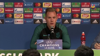 Ter Stegen looking forward to 'special' homecoming