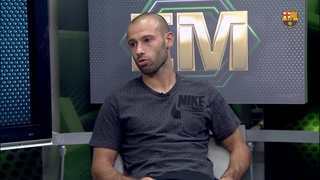 Mascherano' reaction after comeback victory against Bayer Leverkusen
