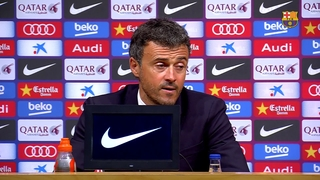 Luis Enrique says his teams is clearly getting better