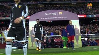 FC Barcelona 7 - València CF 0 (3 minuts)