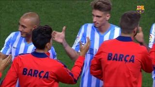 Málaga 0 - FC Barcelona 0
