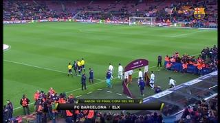 FC Barcelona 5 - Elche 0