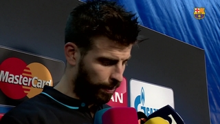 Piqué reacts to Atlético defeat in the Champions League