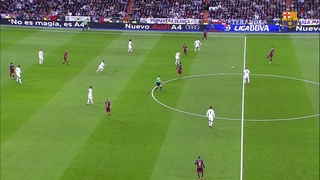 Real Madrid CF 0 – FC Barcelona 4 (1 minute)