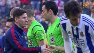 FC Barcelona 4 – Real Sociedad 0 (1 minute)