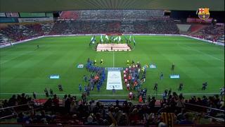 FC Barcelona 0 - RCD Espanyol 1 (2 minutos)
