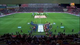 FC Barcelona 0 - RCD Espanyol 1 (2 minutes)