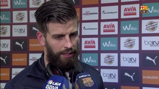 Piqué and Munir reflect on big win in Ipurua