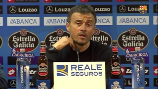 Luis Enrique thrilled with 'spectacular' result