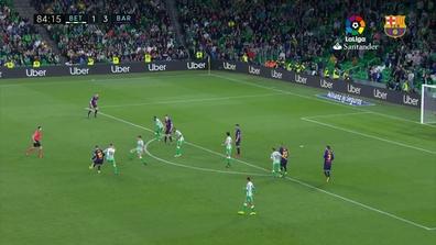 El gol de Messi que enamoró al Villamarín