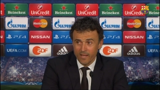 Luis Enrique and his team just 90 minutes away in all three competitions