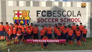 FCB Escola around the world welcome San José